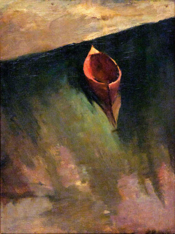 The Boat by Amrita Sher-Gil