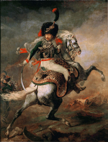 The Charging Chasseur - Canvas Prints