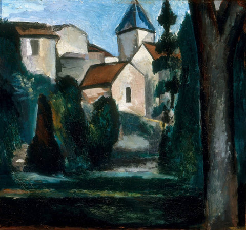 The Church Of Chatou by Andre Derain