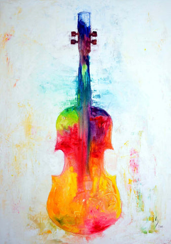 The Colorful Violin - Posters