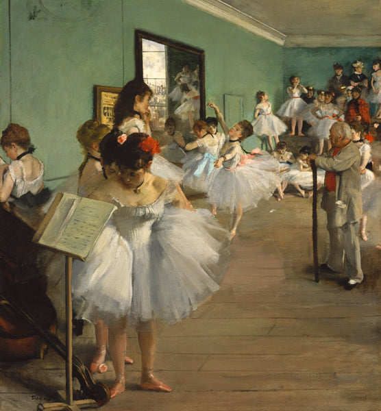 The Dance Class - Framed Prints