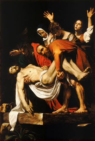 The Entombment Of Christ - Canvas Prints