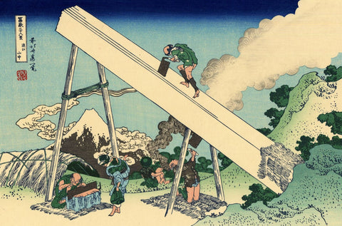 The Fuji From The Mountains Of Totomi - Art Prints