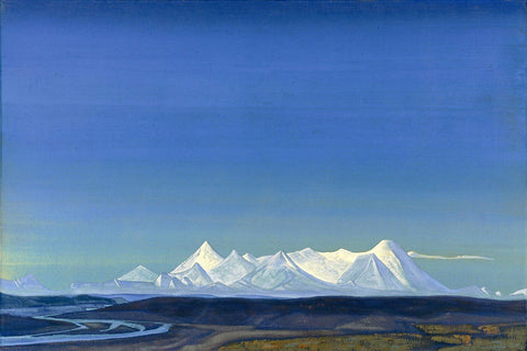 The Greatest And Holiest Of Tangla - Nikolas Roerich by Nicholas Roerich