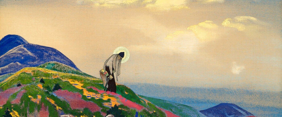 The Healer by Nicholas Roerich | Buy Posters, Frames, Canvas  & Digital Art Prints