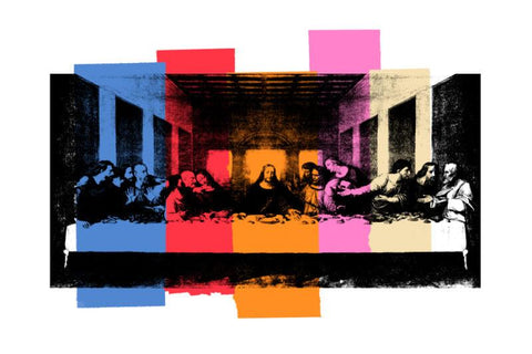The Last Supper - multi colour