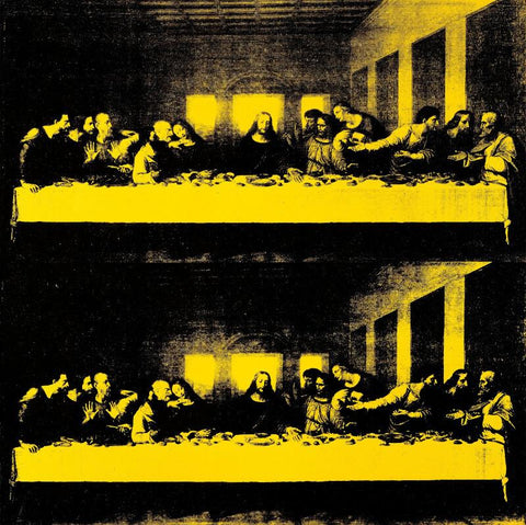 The Last Supper Double Image
