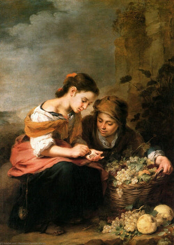 The Little Fruit Seller - Bartolome Esteban Murillo