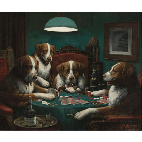 The Poker Game , 1894