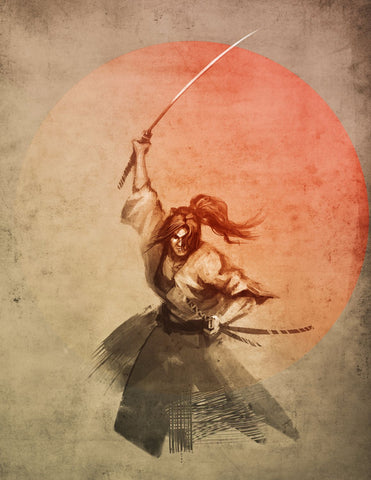 The Samurai - Art Prints