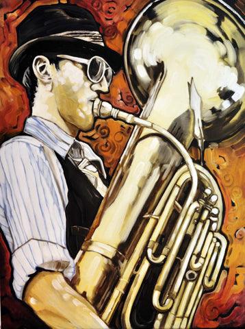 The Saxophonist - Posters