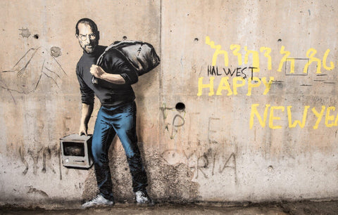The Son of a Migrant from Syria - Banksy