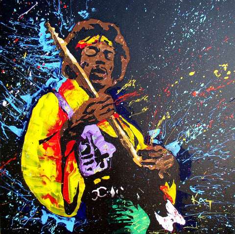 The Spirit Of Jimi Hendrix #2 - Posters