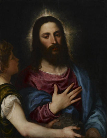 The Temptation Of Christ by Titian