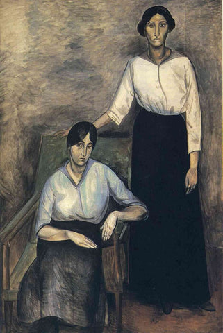 The Two Sisters by Andre Derain