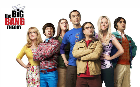 The big bang theory - The group - Large Art Prints