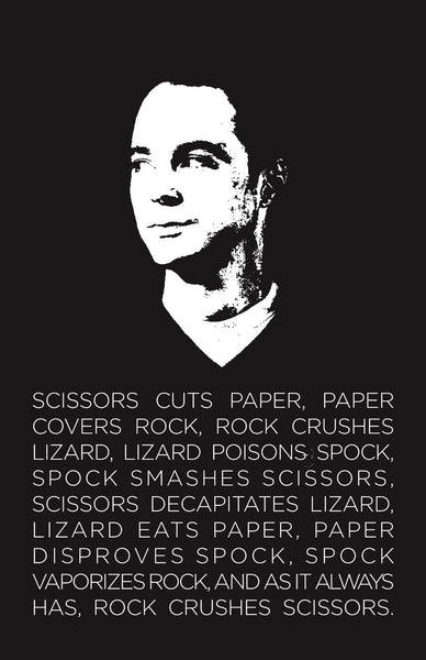 The big bang theory - Rock-paper-scissor-lizard-spock - Life Size Posters