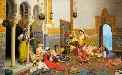 The Harem Dance  - Alexandra Kinias