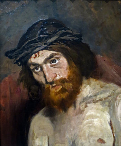 Head of Christ (Tête du christ) - Edward Manet
