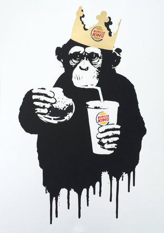 Thirsty Burger King - Banksy