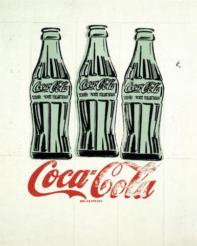 Three Coke Bottles