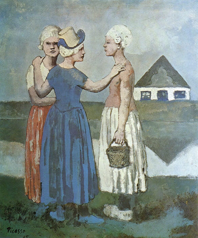 Pablo Picasso - Les Trois Hollandaise - Three Dutch Girls