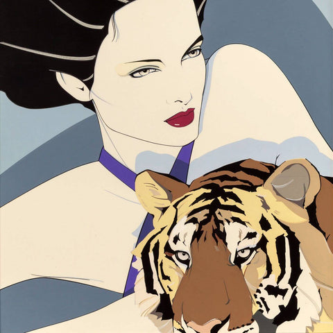 Tigress - Pop Art Painting Square