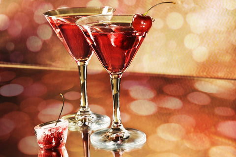 Cocktails With Bokeh Background by Arjun Mathai
