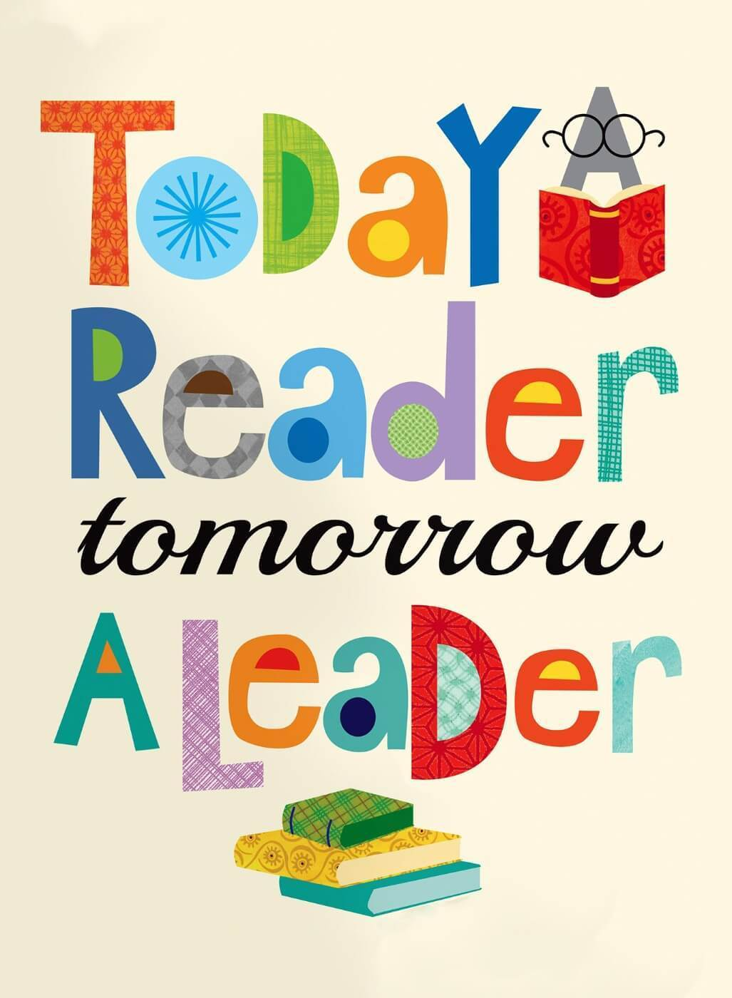 Today A Reader Tomorrow A Leader - Canvas Prints by Tallenge Store | Buy  Posters, Frames, Canvas & Digital Art Prints | Small, Compact, Medium and  Large Variants