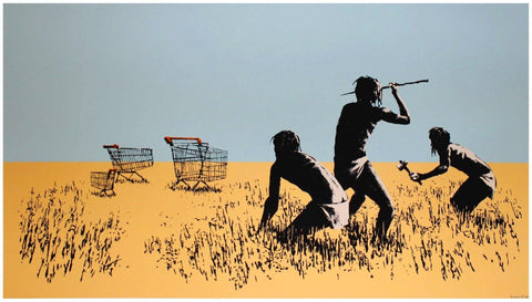 Trolley Hunters - Banksy