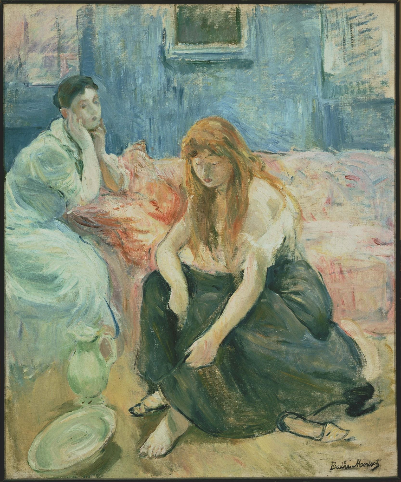 Berthe Morisot | Buy Posters, Frames, Canvas, Digital Art & Large Size Prints Of The Famous Old Master's Artworks