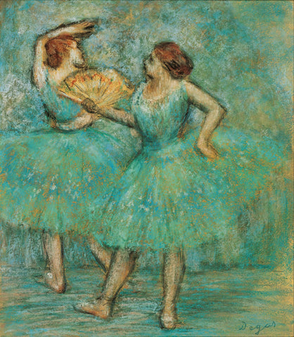 Two Dancers - Canvas Prints