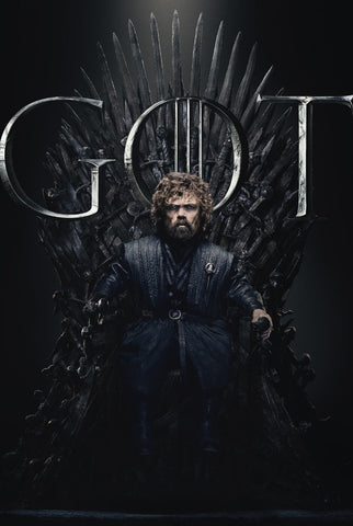 Tyrion Lannister- Iron Throne - Art From Game Of Thrones