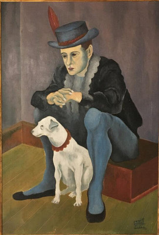 Untitled-(A Man With His Dog)