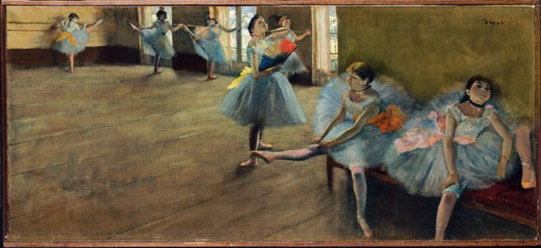 Untitled-( Ballerinas With Broken Legs) - Canvas Prints