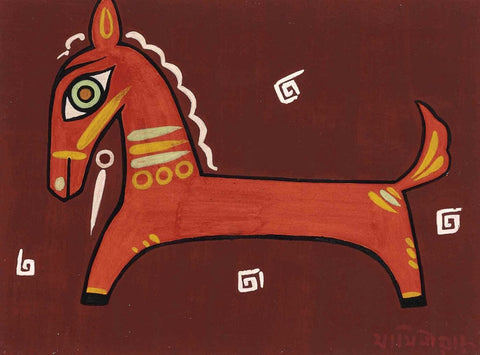 Untitled (Brown Horse) - Art Prints