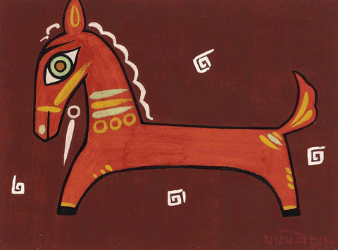 Untitled (Brown Horse)