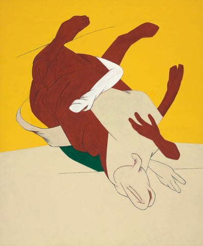 Untitled (Bull) by Tyeb Mehta
