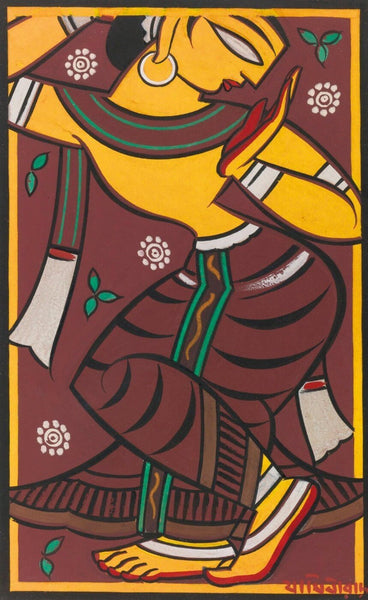 Untitled (Dancing Gopi) - Art Prints
