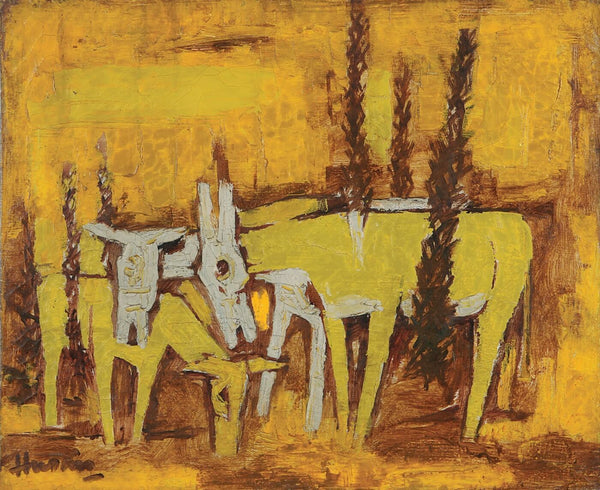 Untitled (Donkeys) - Large Art Prints