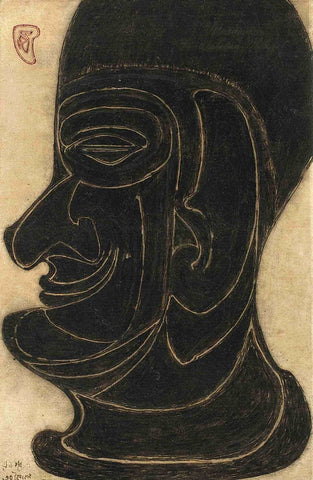 Untitled (Head), 1935 - Canvas Prints