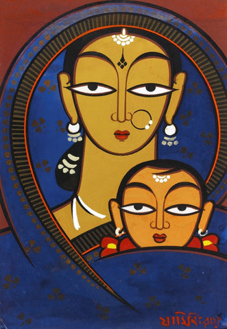 Untitled (Mother and Child) - Canvas Prints