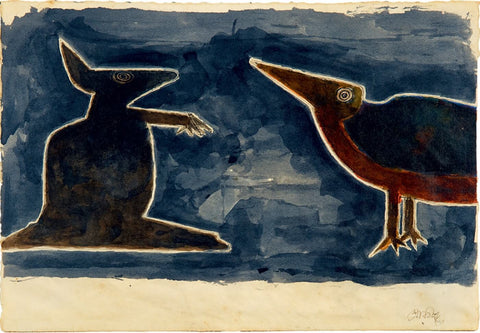 Untitled (Rabbit and Bird)