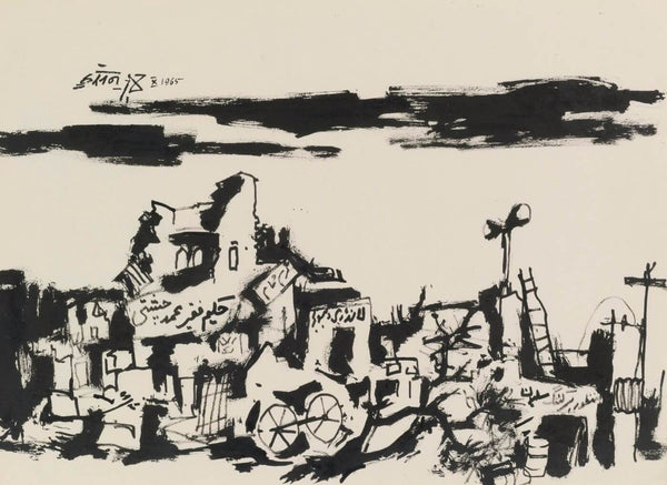 Artwork of Untitled (Sketch), 1965 by M F Husain