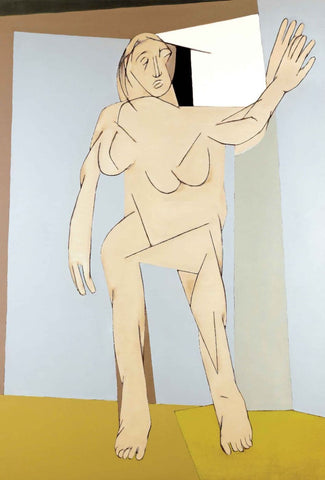 Untitled (Standing Figure) - Canvas Prints