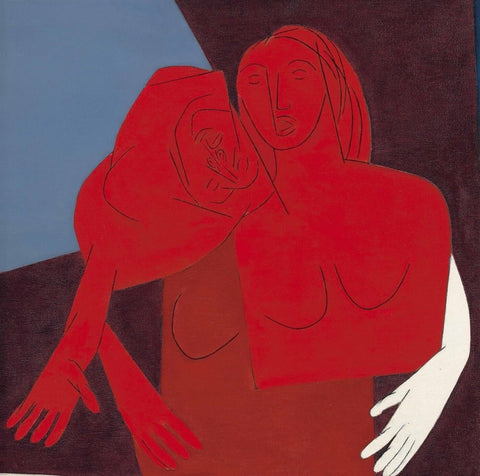 Untitled (Two Figures) - Canvas Prints