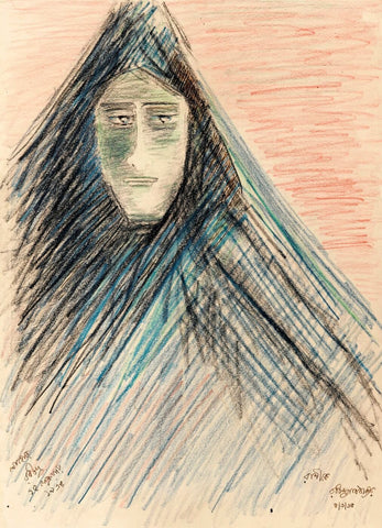 Untitled (Veiled Woman)