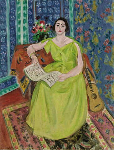 Untitled -  Woman In Green Gown