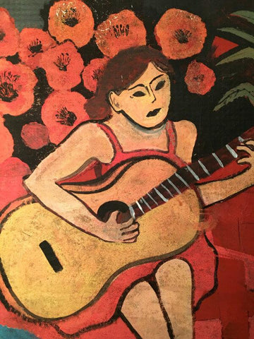 Untitled -  Woman With A Guitar
