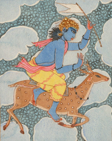 Vayu - The Hindu God Of Wind - S Rajam by S. Rajam